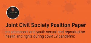 Position Paper: On adolescent and youth SRHR during COVID-19 pandemic